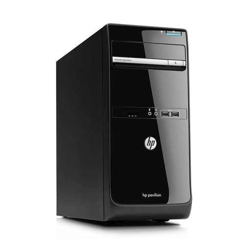 HP Pavilion P6-2021UK Desktop PC, AMD A6-3620 2.20GHz, 4GB RAM, 500GB HDD, Windows 10 Home 64bit