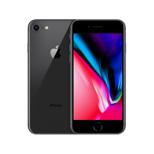 Apple iPhone 8 - Space Grey - 64GB - O2 - Grade B