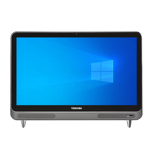 "Toshiba LX830-11D All-in-One PC, 23"" Full HD Touchscreen Display, Intel Core i3-3110M 2.40GHz, 8GB RAM, 2TB HDD, Windows 10"
