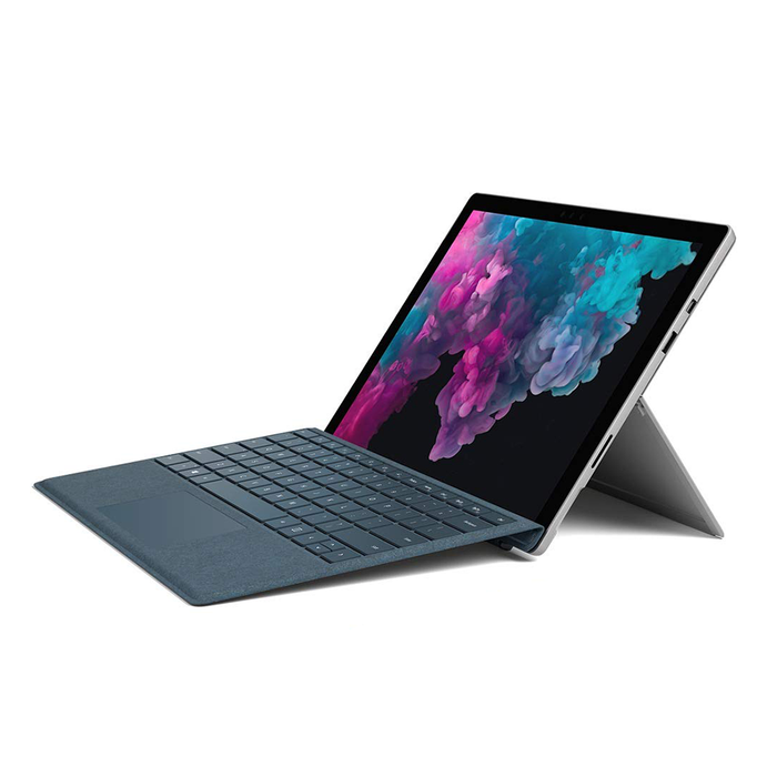 "Microsoft Surface Pro 6 (1796) Tablet PC, 12.3"" 2736 x 1824 Display, Intel Core i5-8250U 1.60GHz, 8GB RAM, 128GB SSD, Windows 10 Home 64bit"