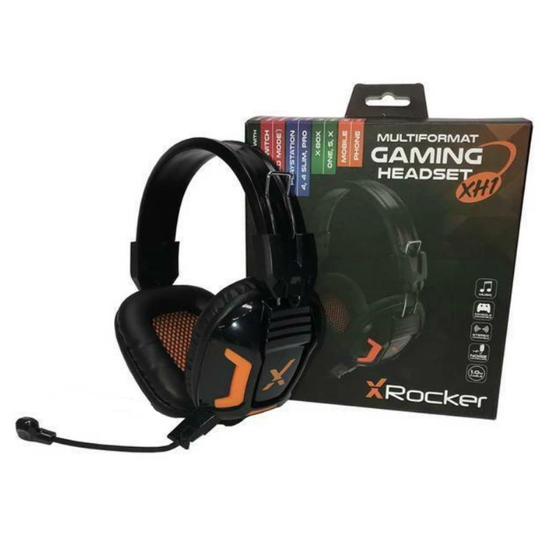 X Rocker XH1 Stereo Headset for Console and PC Gaming -  Brand New