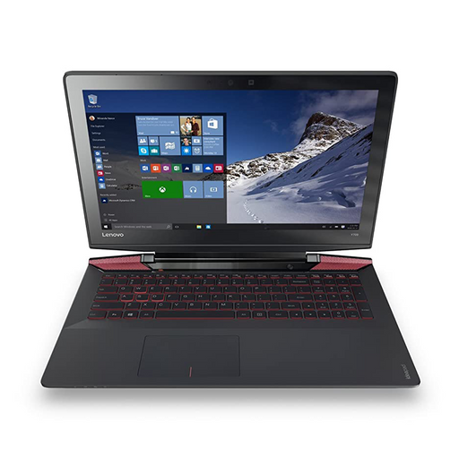 "Lenovo IdeaPad (Y700-15ISK) Gaming Laptop, 15.6"" 4K Display, Intel Core i7-6700HQ 2.60GHz, 16GB RAM, 256GB SSD + 1TB HDD, NVIDIA GeForce GTX 960M Graphics, Windows 10 Pro 64bit"