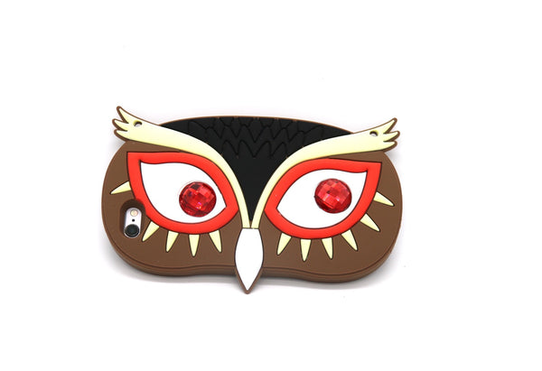 Owl Eyes Soft Silicone Case Cover