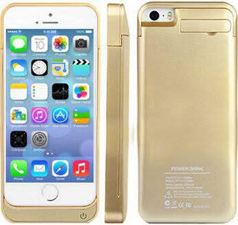 External Battery Power Case - Gold
