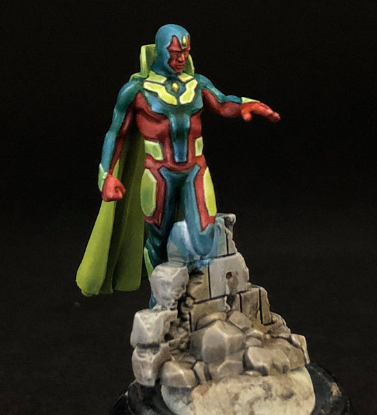 MCP Vision, front, painted by Jez Allum