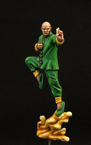 MCP: Wong, front, painted by Jez Allum