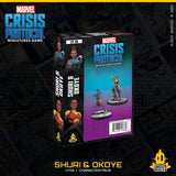 Sculpting (Shuri): Dave Kidd  Sculpting (Okoye): Dave Kidd  Painter: Brendan Roy