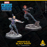 Sculptor (Hawkeye): Dave Kidd  Sculptor (Agent Black Widow): Dave Kidd  Painter: Brendan Roy