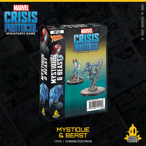 Marvel Crisis Protocol: Mystique and Beast