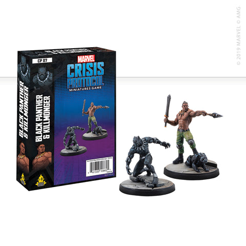 Marvel: Crisis Protocol Black Panther and Killmonger set now available from dark-ops.co.uk