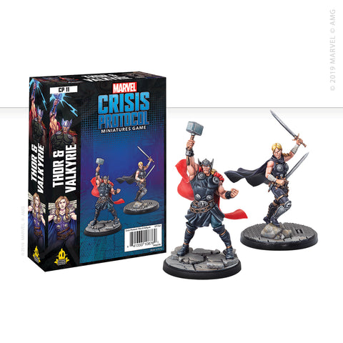Marvel: Crisis Protocol Thor and Valkyrie set now available from dark-ops.co.uk