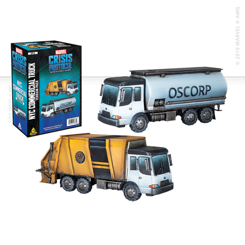 Marvel: Crisis Protocol Commercial Truck set now available from dark-ops.co.uk