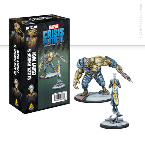 Marvel: Crisis Protocol Black Dwarf & Ebony Maw set now available from dark-ops.co.uk