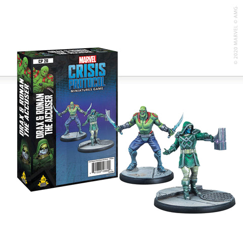Marvel: Crisis Protocol Drax and Ronan the Accuser set now available from dark-ops.co.uk