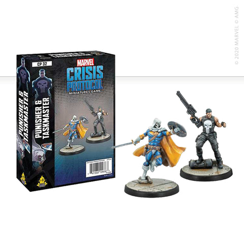 Marvel: Crisis Protocol Punisher and Taskmaster set now available from dark-ops.co.uk