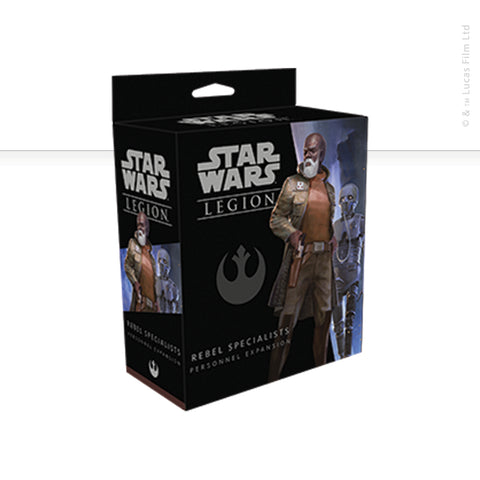 Star Wars: Legion, Rebel Specialists Personnel now available from dark-ops.co.uk