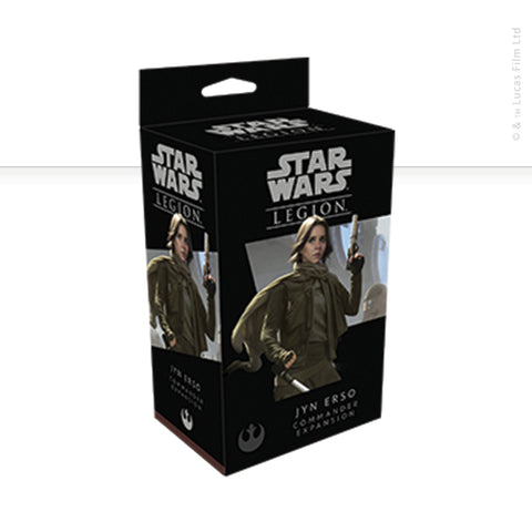 Star Wars: Legion, Jyn Erso now available from dark-ops.co.uk
