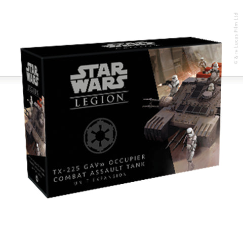 Star Wars: Legion, TX-225 GAVw Occupier Combat Assault Tank now available from dark-ops.co.uk
