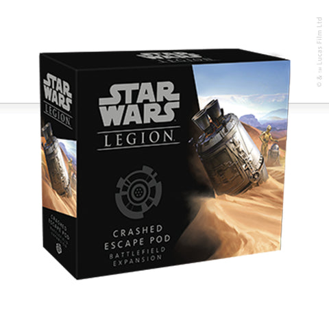 Star Wars: Legion, Crashed Escape Pod with R2-D2 & C3-P0 now available from dark-ops.co.uk
