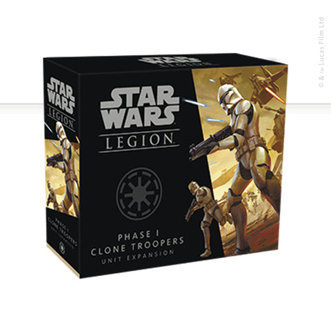 Star Wars: Legion, Phase 1 Clone Troopers Unit now available from dark-ops.co.uk