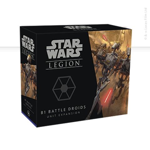 Star Wars: Legion, B1 Battle Droids Unit now available from dark-ops.co.uk
