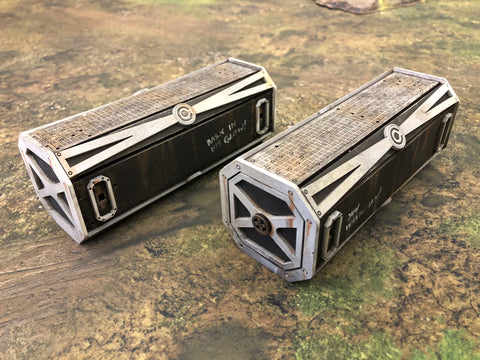 Wasteman - Lunar Coalition Storage Containers x 2