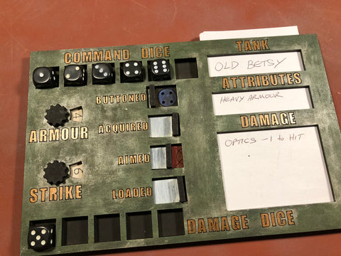 18 Board Tankgasm - What a Tanker MDF Dashboards