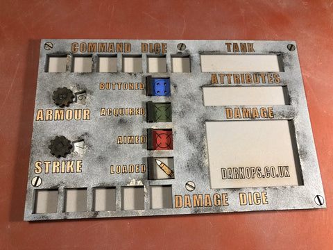8 Board Tankfest - What a Tanker MDF Dashboards