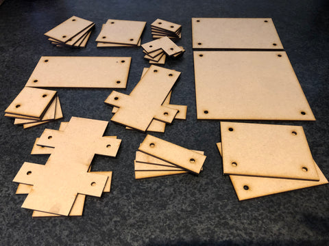 Star Saga - Magnetic Base Tiles – DarkOps Laser Cut Wargaming
