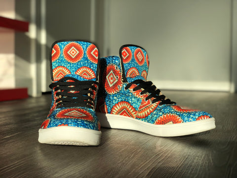High Top Retro Kente