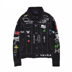 Anarchy Graffiti Jacket