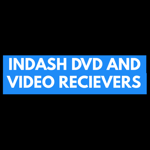 Indash dvd and video recievers