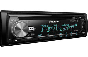 DEH-S6000BS Single DIN SiriusXM Ready Bluetooth In-Dash CD/AM/FM Car Stereo Receiver