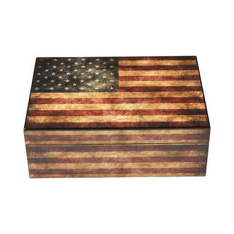 Old Glory Humidor 25-50ct