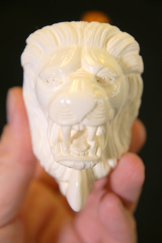Meerschaum Lion Head Pipe