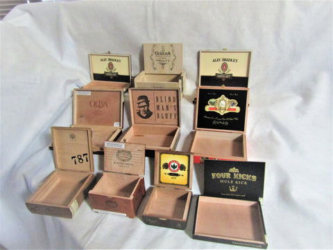 """Gurkha"" 10 Empty Box selection"