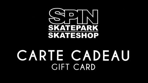 Spin Skateboard Shop Gift Card
