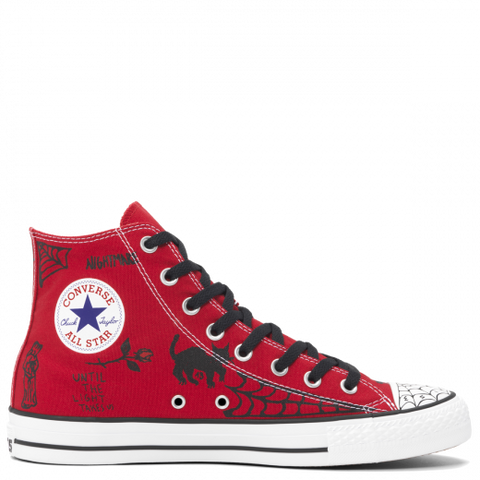 Converse X Sean Pablo CONS CTAS Pro High Top Red