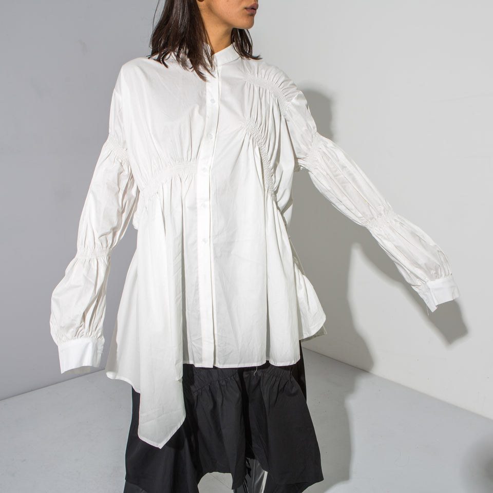 White Trapeze Shirt*