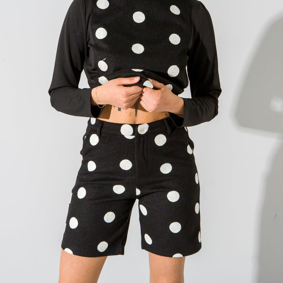 Polka Dot Shorts Set*