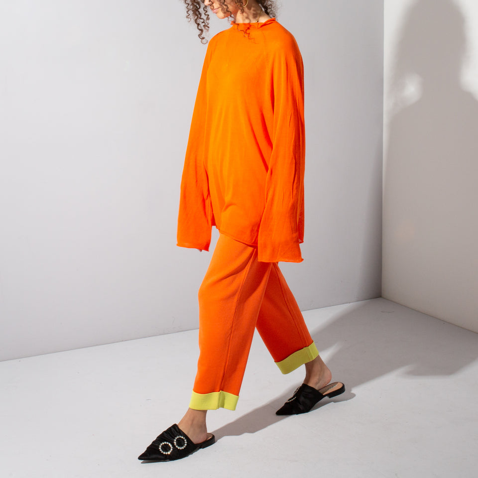Orange Long Sleeve and Trouser Set*