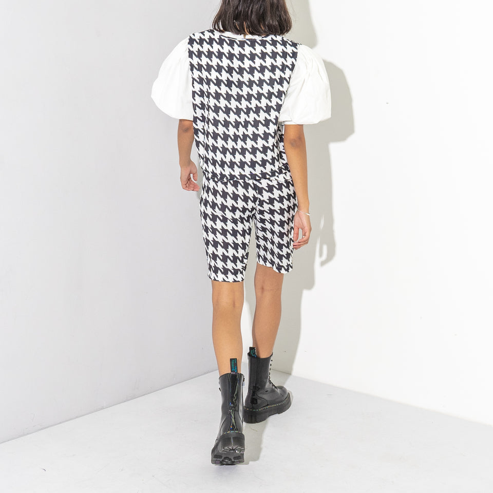 Houndstooth Shorts 2 Piece Set*
