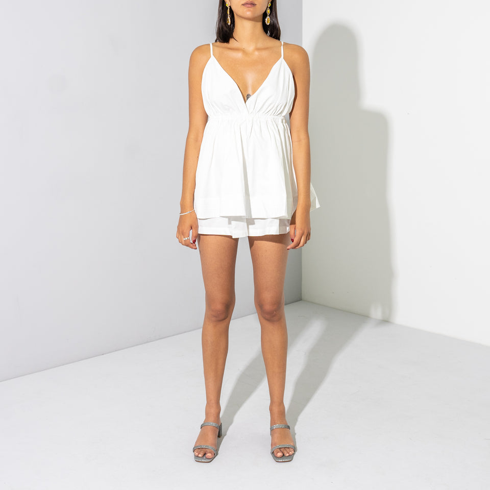 White Playsuit*
