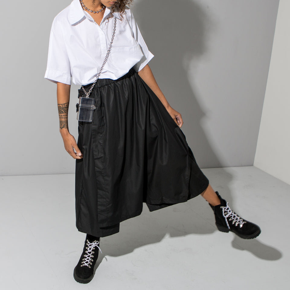Super Wide Black Culottes*