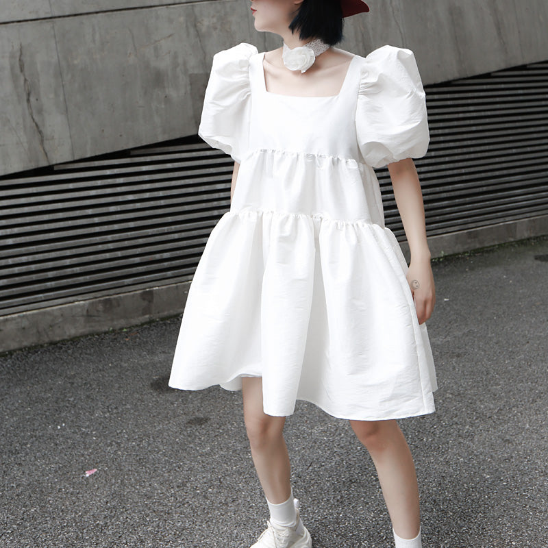White Martha Dress*