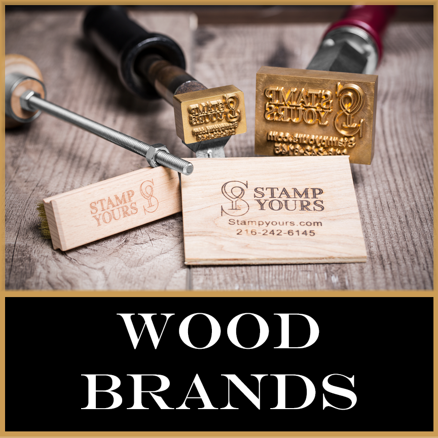 Wood Brand Custom Made By Stamp Yours