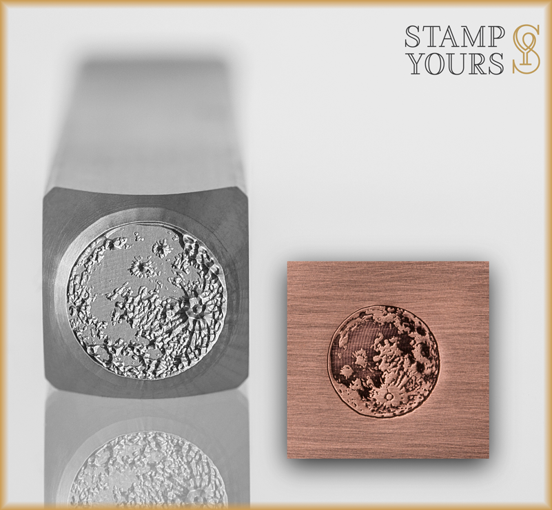 Full Moon - Moon Phase - Stamp Yours