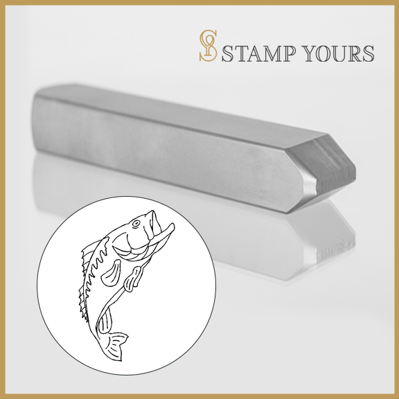 Fish Metal Stamp - Stamp Yours