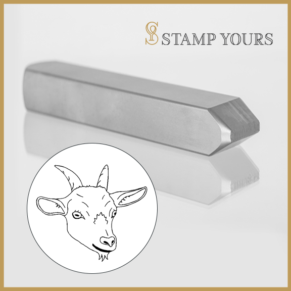 The GOAT Metal Stamp - Stamp Yours