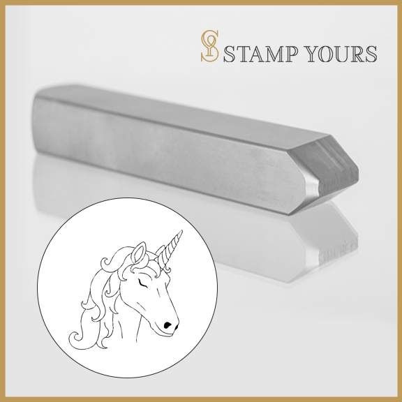 Unicorn Metal Stamp - Stamp Yours